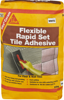 Sika - SikaCeram Rapid Set Flexible Tile Adhesive 20kg