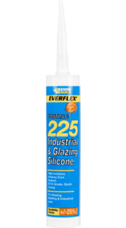 Everbuild - 225 Industrial & Glazing Silicone
