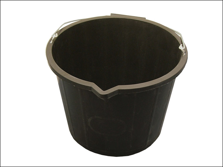 Faithfull - 3 Gallon 14 Litre Bucket - Black