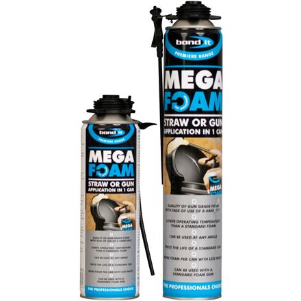 Bond-It - Mega Foam - PU Expanding Foam - Box of 12