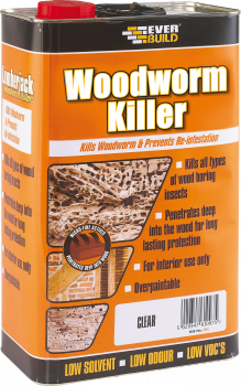 Everbuild - Lumberjack Woodworm Killer
