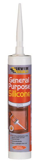 Everbuild - General Purpose Silicone  - 310ml Cart