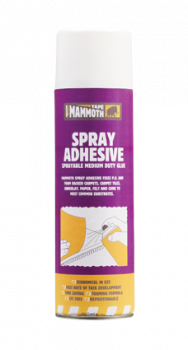 Everbuild - Mammoth Spray Adhesive 500ml Box of 12