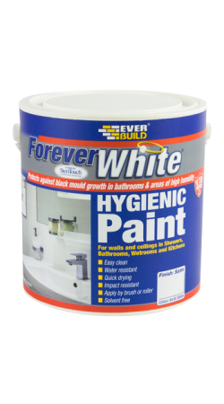 Everbuild - Forever White Hygienic Paint