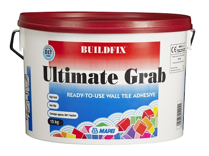 Mapei - Ultimate Super Grab ready Mixed Adhesive 15kg