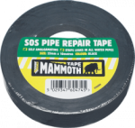 Everbuild - SOS Pipe Repair Tape Black 25mm