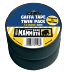 Everbuild - Gaffa Tape Twin Pack Black 50mm