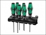 Wera -  Kraftform Plus Lasertip 335/350/355/6 Screwdriver Set of 6 SL / PZ / PH