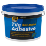 Everbuild - 702 Water resistant Tile Adhesive - Off White