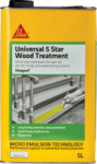 Sika - SikaGard Universal Five Star Wood Treatment 5 Litre