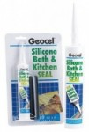 Geocel - Bath and Kitchen Seal Sanitary Silicone Sealant (310ml)