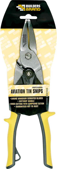 Builders Brand - Aviation Tin Snips