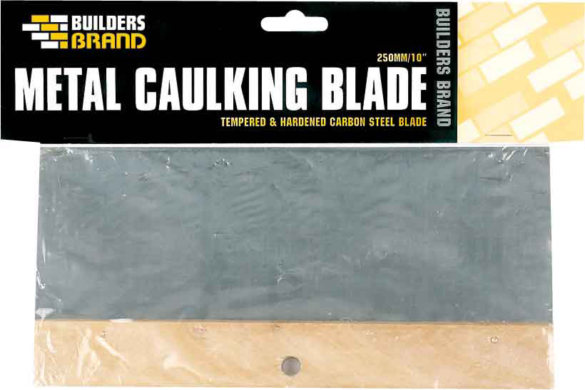 Builders Brand - Metal Caulking Blade 250mm