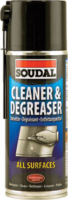 Soudal - Celeaner and Degreaser 400ml - Box of 6