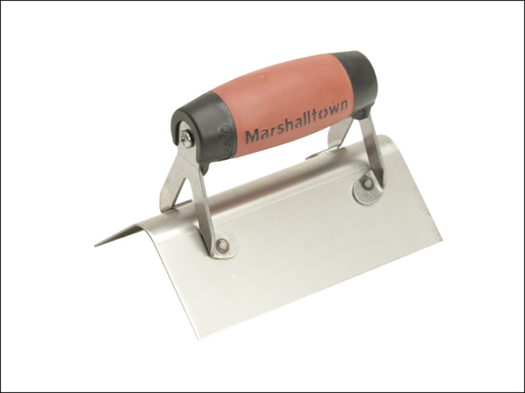 Marshalltown - Stainless Steel External Corner Trowel Rounded DuraSoft® Handle