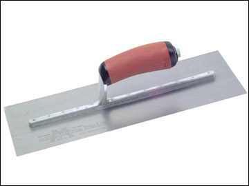 Marshalltown - Pre-Worn Plasterers Trowel DuraSoft® Handle 13in x 5in