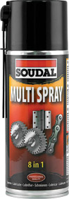 Soudal - Multi Spray 400ml - Box of 6