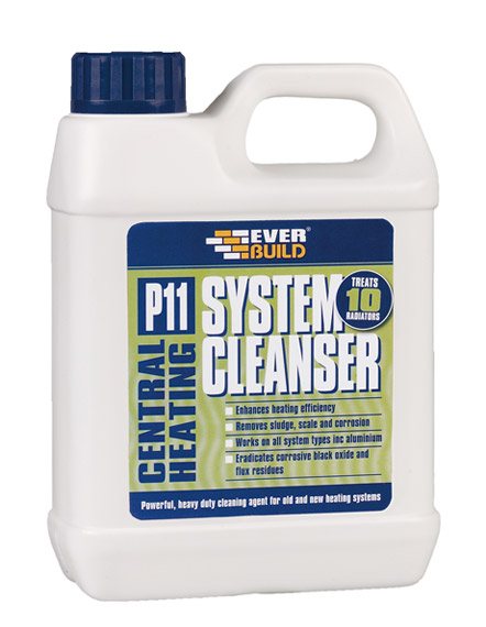 Everbuild - P11 Central Heating System Cleanser 1 Liter