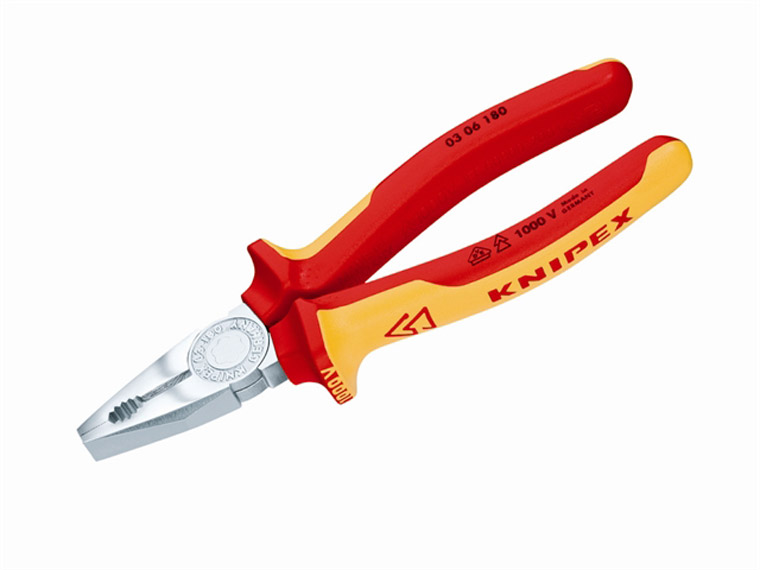 Knipex - Combination Pliers VDE Certified Grip 180mm