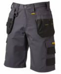 Dewalt - Cheverley Lightweight Grey Polycotton Shorts