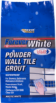 Everbuild - Forever White Powder Wall Tile Grout - Arctic White