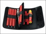 Wera - Kraftform VDE Kompakt Interchangeable Screwdriver Set of 18